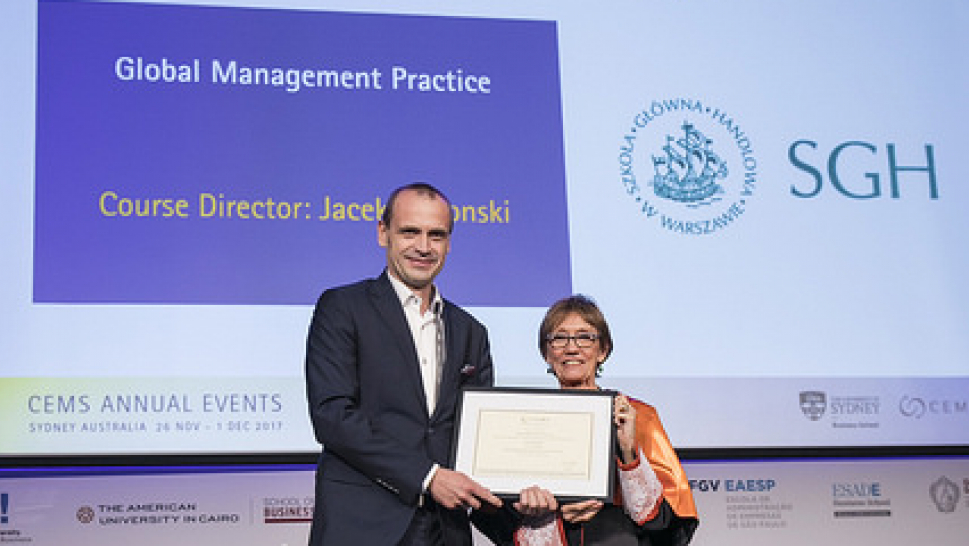 Course of the Year Award For Global Management Practice - Picture